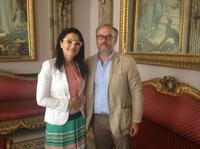 La Provincia a sostegno della Città di Reggio -  il Vicepresidente Verduci incontra l'Assessore Angela Marcianò