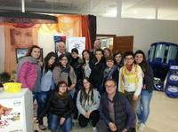 Corso per estetista svolto presso il Centro di Formazione di Locri della Provincia